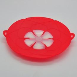 Novedad, utensilios de cocina, tapa de silicona, tapa de tapón, tapa de olla, 28,5 cm de diámetro, tapa de olla, utensilio