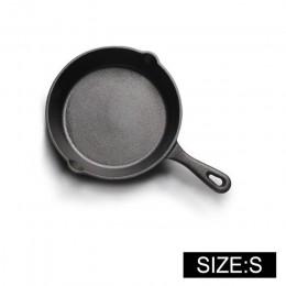 UPSPIRIT de hierro fundido no-stick 14-20CM sartén comal para Gas de la cocina de inducción huevo recipiente de panqueque de coc