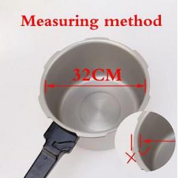 18 20 22 24 26 32cm ollas de presión junta de goma de silicona blanca junta de sellado anillo de sello de presión cocina herrami