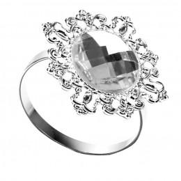 12 piezas anillos servilleteros soporte boda banquete cena decoración plata