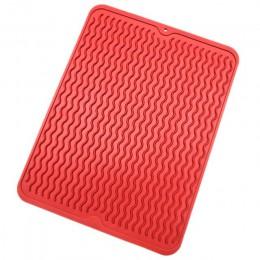 Mantel de mesa de silicona grande, alfombrilla de secado resistente al calor, vajilla para lavavajillas, taza de cojín, alfombri