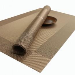 Manteles Individuales de PVC lavables alfombrilla de paño de mesa esteras de mesa resistentes a las manchas cuenco de disco de c
