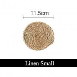 Almohadilla de Mantel posavasos de cocina manteles de lino de algodón cuenco de tejer alfombrilla con relleno almohadilla de ais