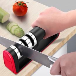 BEEMSK afilador de cuchillos profesional rápido de diamante afilador de 3 etapas afilador de cuchillos herramientas de afilar pi