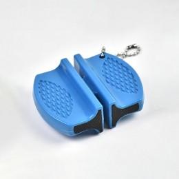 ONEUP Mini afilador de cuchillos de varilla de cerámica de dos etapas de tungsteno portátil tipo mariposa afilador de piedra afi