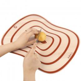 Cortar la cocina bloques herramienta Flexible transparente de cocina PP tableros de corte de clasificación tabla de cortar calie