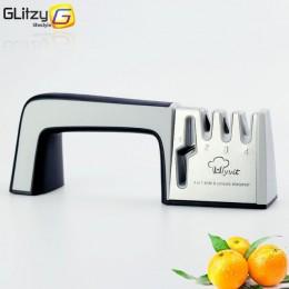 Afilador de cuchillos 4 etapas cocina profesional afilador de piedra tijeras trituradora cuchillos tungsteno diamante cerámica h