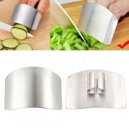 1 Uds protección para dedo cortado a mano Protector de mano cuchillo cortado dedo protección herramienta de acero inoxidable ute