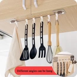 Cocina Gabgets armario 6 gancho organizador Rack de almacenamiento despensa pecho herramientas toallas armario de colgar estante