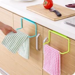 Toallero soporte colgante organizador baño Cocina gabinete percha de armario suministros de Cocina accesorios Cocina