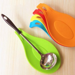 Multi Mat herramientas de cocina estera de silicona aislamiento mantel resistente al calor poner una cuchara accesorios de cocin