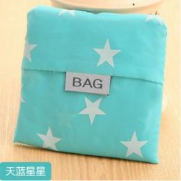Gran oferta bolso de compras portátil de moda para mujer con impresión creativa de tela Oxford bolso plegable para mujer bolsos