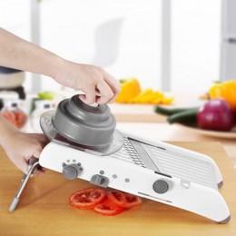 Accesorios de cocina multifuncional trituradora manual de acero inoxidable mandolina rallador de frutas ensalada de verduras her
