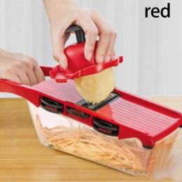 Cortador de verduras myveta con hoja de acero cortadora de mandolina pelador de zanahorias de patatas rallador rebanador de vege
