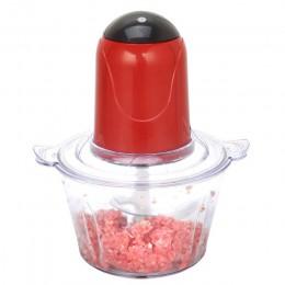 2L eléctrico cortador de Cocina carne Ralladora trituradora comida helicóptero eléctrico de acero inoxidable de procesador para