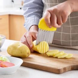 1 Uds. Para el hogar utensilios de cocina, Gadgets, cortador de cebolla, rebanadas de patata picada, cuchillo 10,8*9,5 cm nuevo