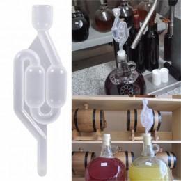 Una forma de aire de cerveza de barril de la válvula de escape de fermentación vino esclusa de aire válvula de agua sellada válv