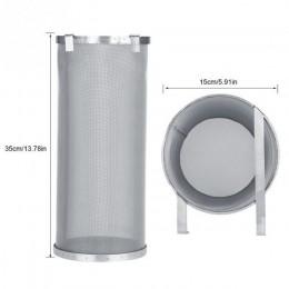 Colador de filtro de malla de cerveza Hop artesanal de acero inoxidable de 300 micrones con filtro de malla de araña de cerveza