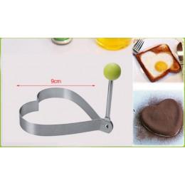 1 Uds. De acero inoxidable huevo frito molde para panqueques pan con forma de fruta y verduras Decoración Accesorios de cocina u