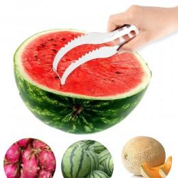 2019 nuevo cortador de sandía de acero inoxidable cuchillo Corer fruta verduras herramientas utensilios de cocina
