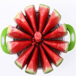 Herramientas de cocina prácticas JINJIAN creativo cortador de melón y Sandia cuchillo cortador 410 Acero inoxidable fruta cortad