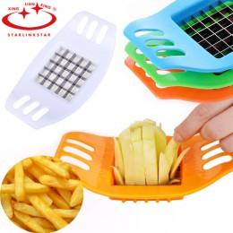 Cortador de patatas fritas de acero inoxidable cortador de verduras patatas fritas herramienta de fabricación de utensilios de c