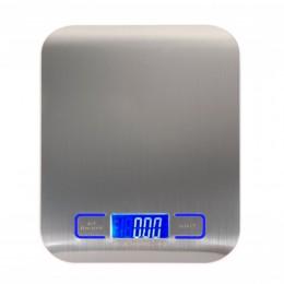11 LB/5000g báscula electrónica de cocina báscula Digital de alimentos báscula de acero inoxidable LCD herramientas de medición