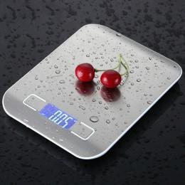 Báscula de cocina hogar 10kg báscula alimentaria electrónica báscula de dieta herramienta de medición delgada LCD báscula electr
