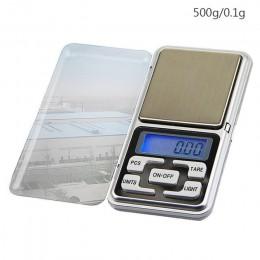 1 Uds Mini escala Digital/100/200/300/500g 0,01/0,1g de alta precisión de fondo de bolsillo para joyería de peso de gramo para C