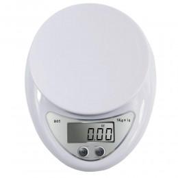 Fagoozon 5 kg/1g 1 kg/0,1g báscula Digital portátil LED báscula electrónica Postal Medición de alimentos básculas electrónicas L