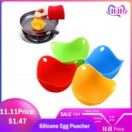 Hifuar 4 Uds de huevo de silicona cazador Caza Vainas recipiente molde para huevos anillos de cocina accesorios de cocina Pancak