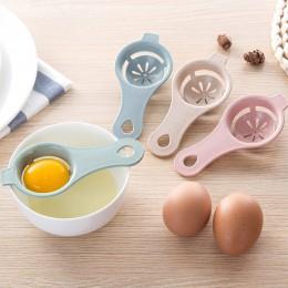 Dropship herramienta de huevos de cocina separador de yema de huevo de grado alimenticio separación de proteínas huevos de mano