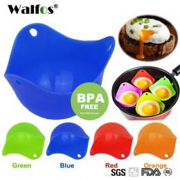 WALFOS de grado alimenticio flexible de silicona para hacer huevos furtivos, utensilios de cocina para cocinar, utensilios de co