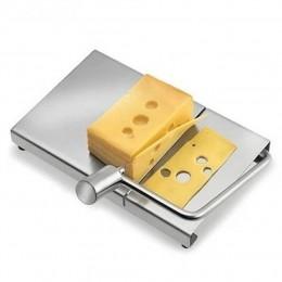 Nueva herramienta cortadora de queso de acero inoxidable 1 cortador de alambre para queso con tabla de servir para mantequilla d