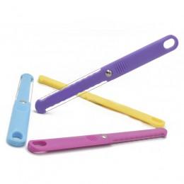 1 unidad cortadora de queso de color aleatorio pelador con cable cortador de mantequilla de queso cuchillo de queso plástico her