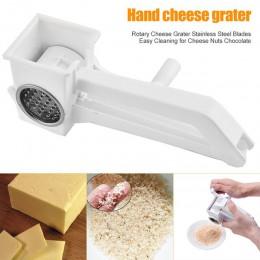 Rallador de queso rotatorio cuchillas de acero inoxidable fácil limpieza para nueces de queso Chocolate mejor precio