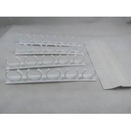 Gadget de cocina Superior 20 Clips de especias de puerta de gabinete Clips de especias organizador Rack Store N pinza para espec