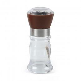 Hourong sal pimienta molino molinillo de pimienta molinos coctelera especia contenedor negro molino de pimienta de la cocina de