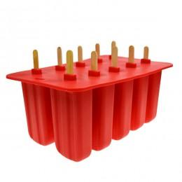 Tinas de helado de silicona molde de paleta ecológico para el hogar de niños para utensilios de cocina accesorios de barra de co