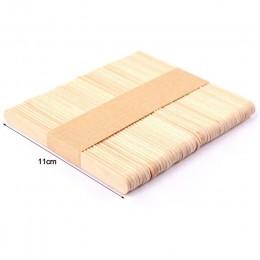 Silikove 50 unids/lote palitos de madera Natural moldes de helado de silicona para palitos de paleta niños manualidades artesana
