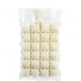 10 Uds. Bandeja con molde para cubitos de hielo desechable, inyección de agua, cóctel hace bolsas de hielo, jugo, bebida, herram