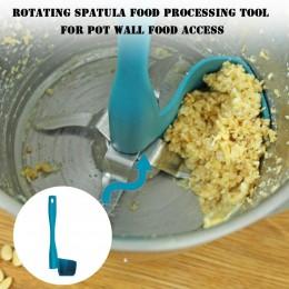 1 Uds espátula recogiendo y porcionado comida accesorios de procesador portátil giratorio picadora de carne de tambores para The