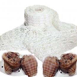 3 metros de red de carne de algodón, Red de salchicha, Red de salchicha, rollo de red de salchichas, herramientas de envasado de