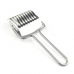 Máquina de prensado Mango antideslizante utensilios de cocina fabricantes spaetzle tallarines corte cuchillo 1 pieza Manual secc