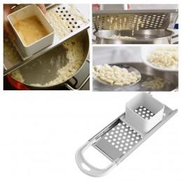 Máquina de Pasta Manual de fideos Spaetzle fabricante de cuchillas de acero inoxidable máquina de bolas de masa Pasta herramient