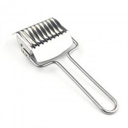 Fabricantes spaetzle cortador de chalote Mango antideslizante Manual sección 1 pieza fideos corte cuchillo prensado máquina de a