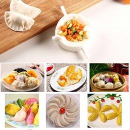 Nuevo 3 unid/set DIY molde para dumplings Jiaozi fabricante herramienta masa prensa empanada dumpling molde de ravioles Clips ut