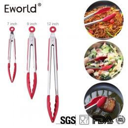 Eworld nuevo utensilio de acero inoxidable de alta resistencia a altas temperaturas para cocinar ensalada de cocina