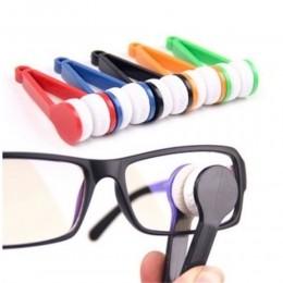 Gafas de sol gafas limpiador de microfibras para gafas herramienta de limpieza de plástico gafas prácticas cepillo limpiador ute