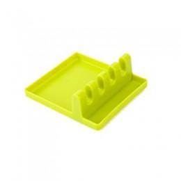 Soporte de espátula Tofok estante de almacenamiento cuchara resto vajilla drenaje del soporte estante estera organizador resiste